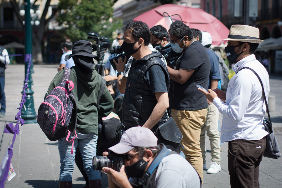 Agresiones hacia la prensa. Foto: Marlene Martínez