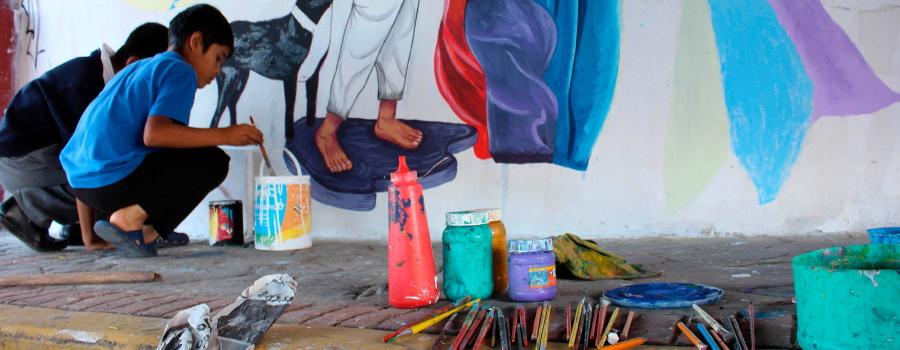 El arte como una forma de escucha, reflexión y protesta