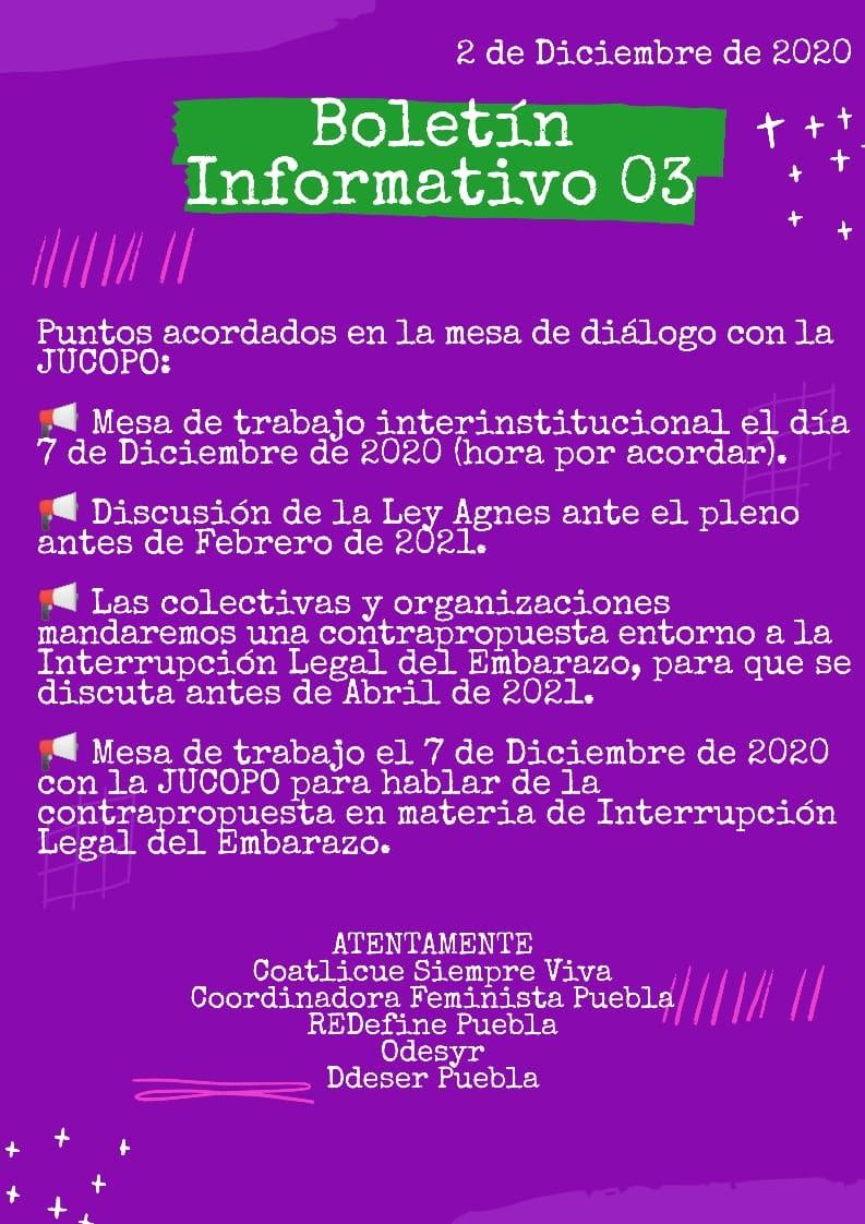 Toma del Congreso de Puebla