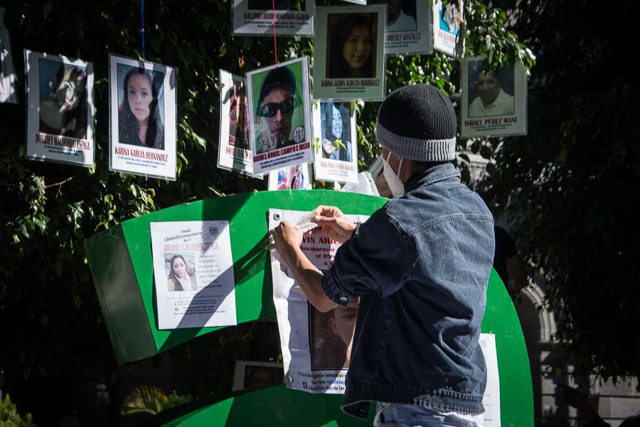 Desaparición de personas Foto: Marlene Martínez