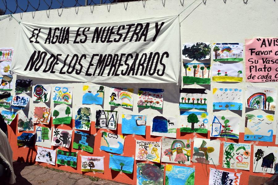 La lucha por el agua en Zacatepec continuará hasta que Bonafont se vaya